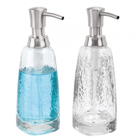 mDesign Glass Refillable