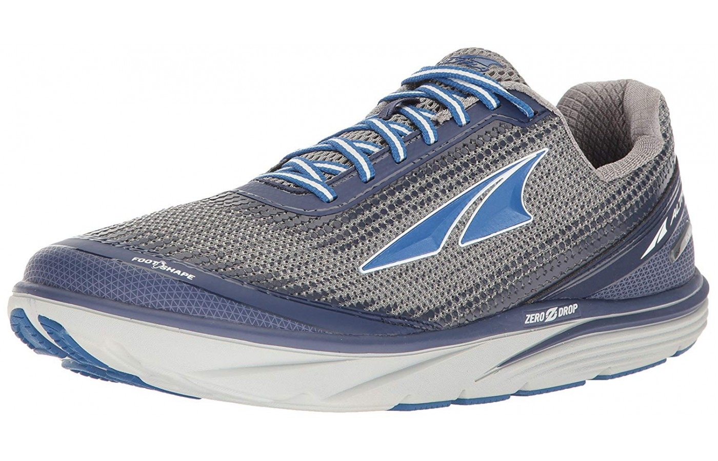 The Altra is made of upper mesh material.