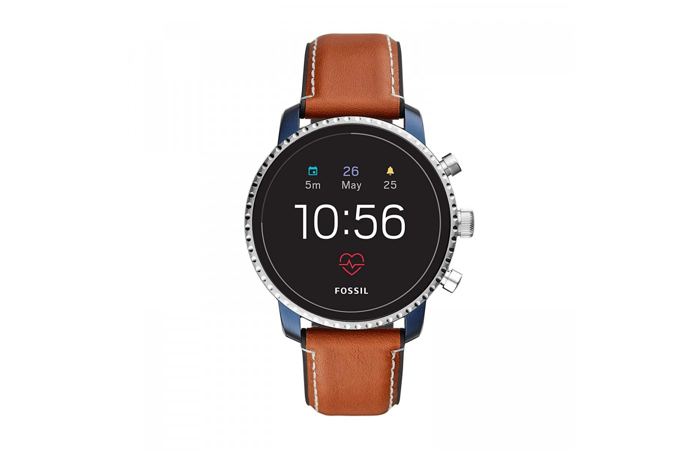 The Fossil Smartwatch allows you to receive important notifications.