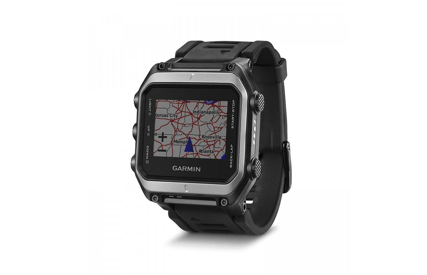 The watch has a highly accurate GPS.