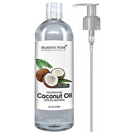 Majestic Fractionated Coconut Oil