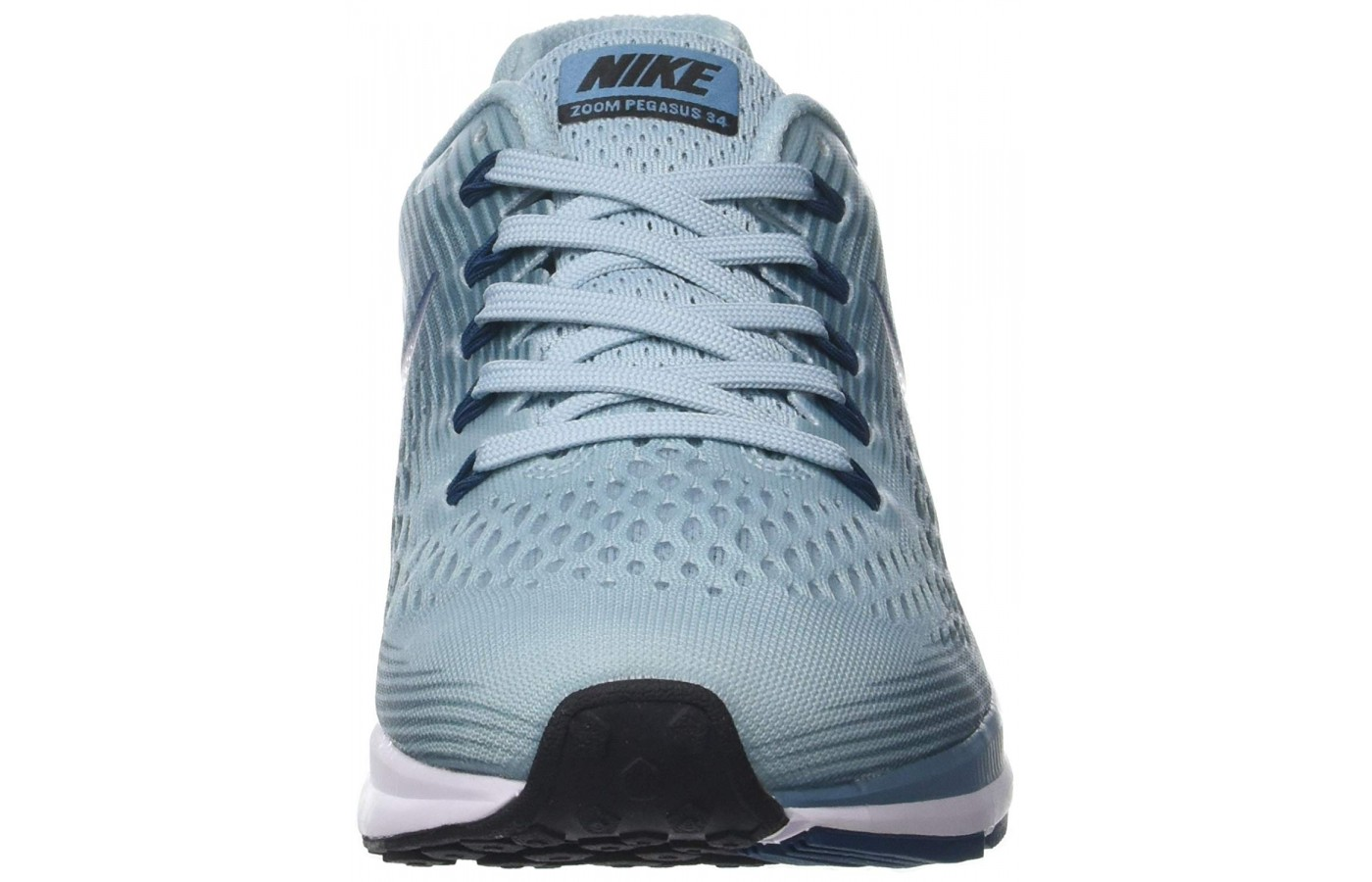 The Nike Air Bellas are made with a mesh material on the upper.