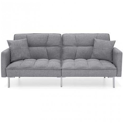 Best Choice Products Tufted Splitback