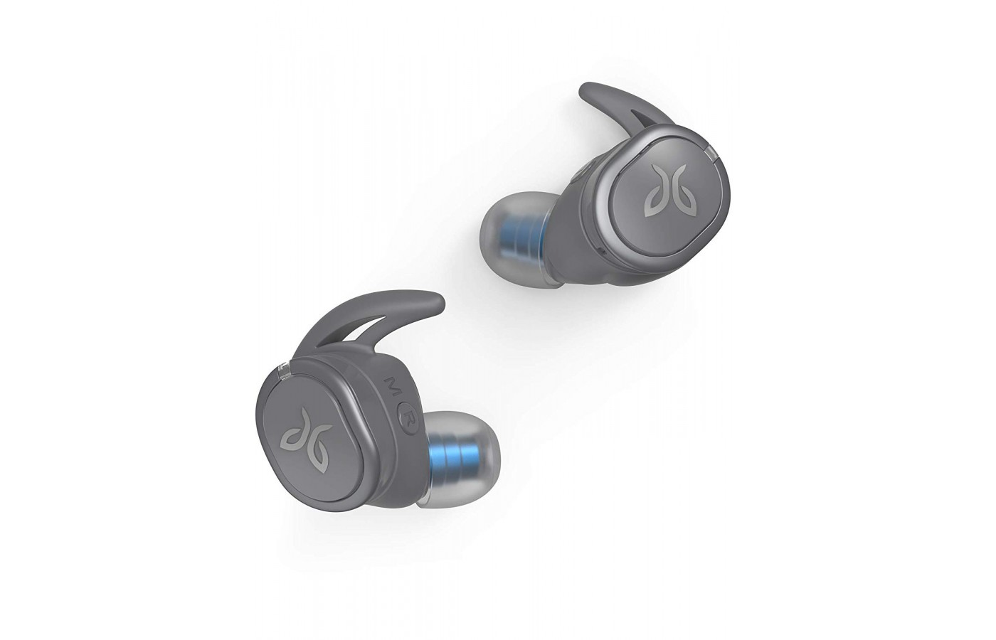 The Jaybird Run headphones are truly wireless headphones that do not have a wire or cord to interfere with a user's listening pleasure.
