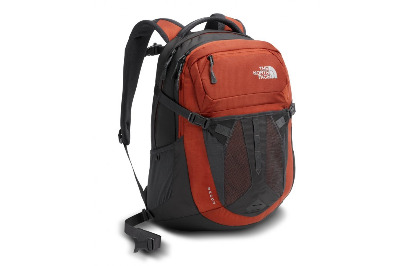 The North Face Jester Backpack is a redesigned model that is made of 600D polyester.