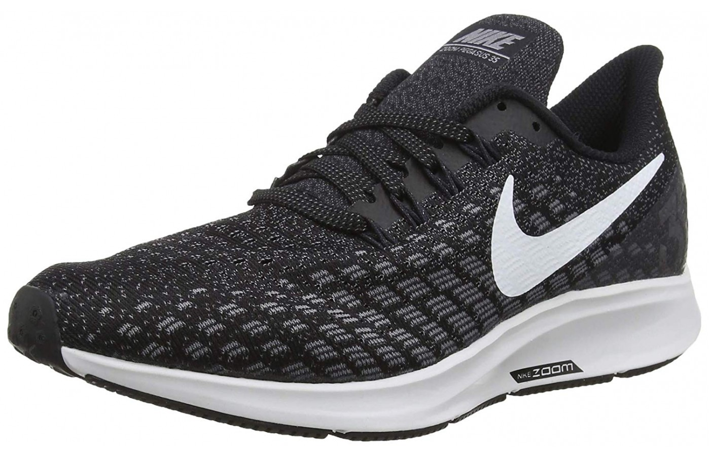 The Nike Air Zoom Pegasus hardsole is known to be very durable.