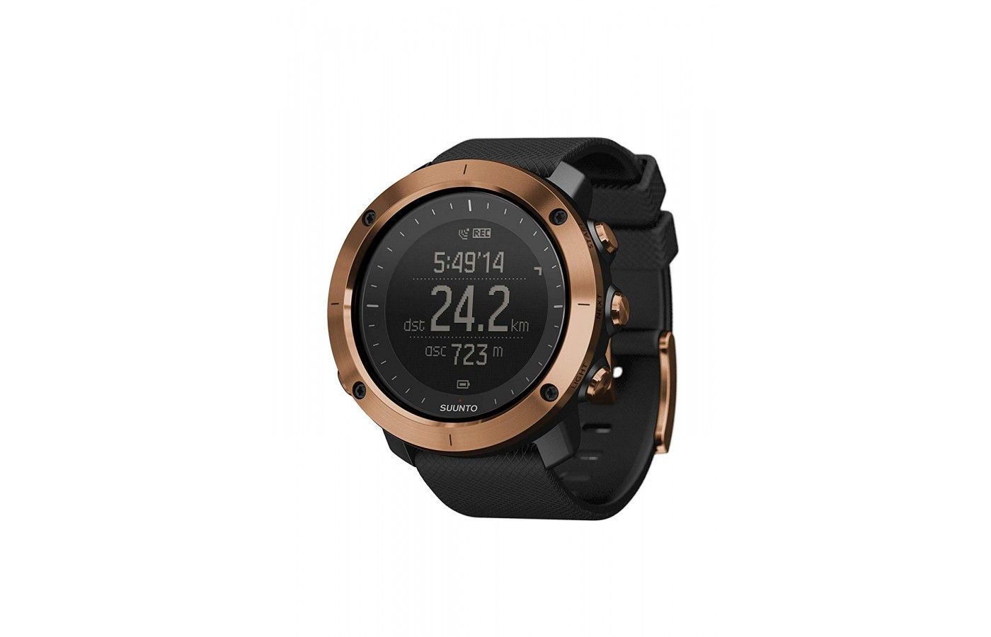 The Suunto Traverse Alpha is highly durable.