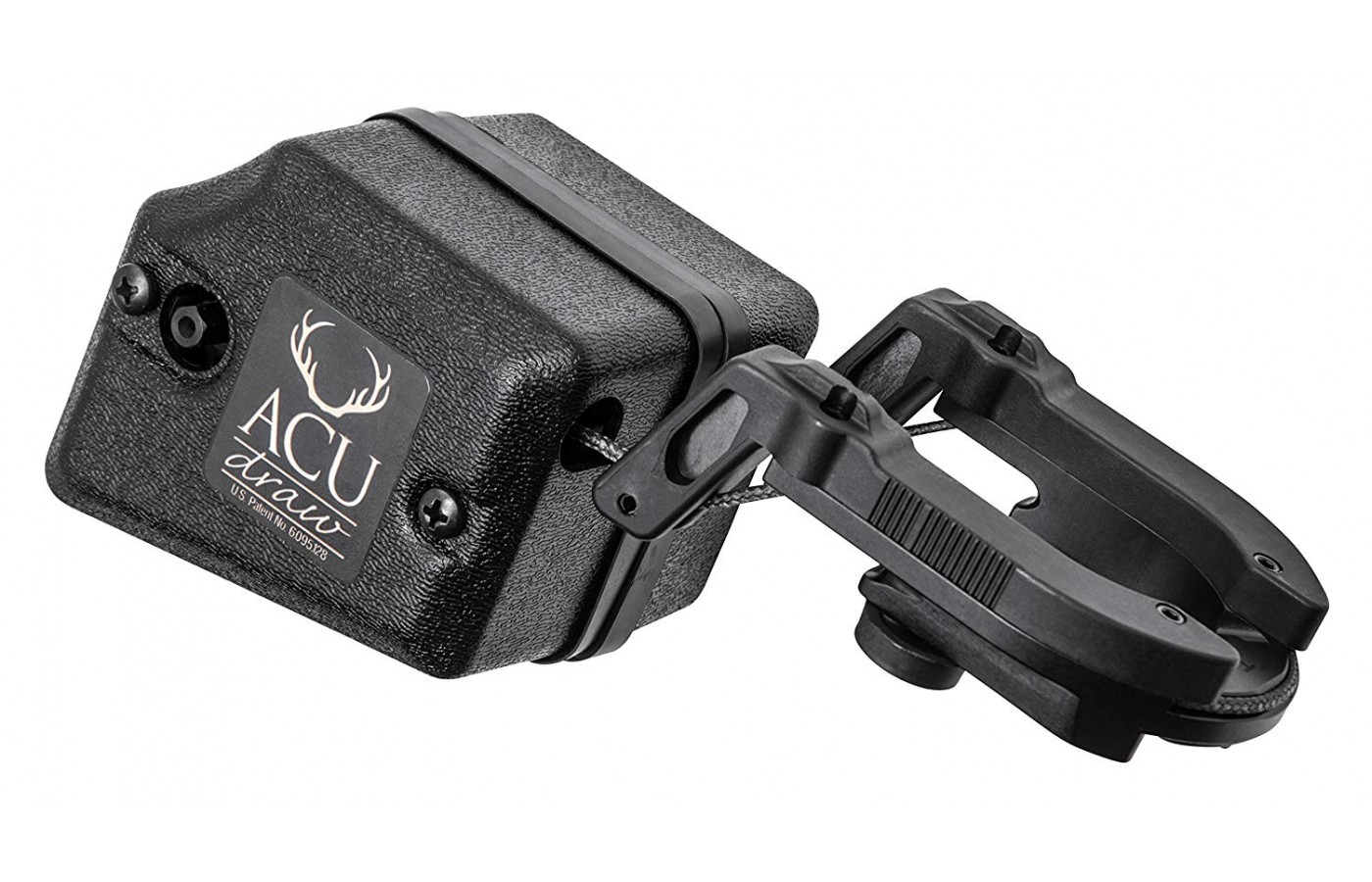 Integration of the stock with ACUdraw creates a manageable, heavy-duty crossbow.