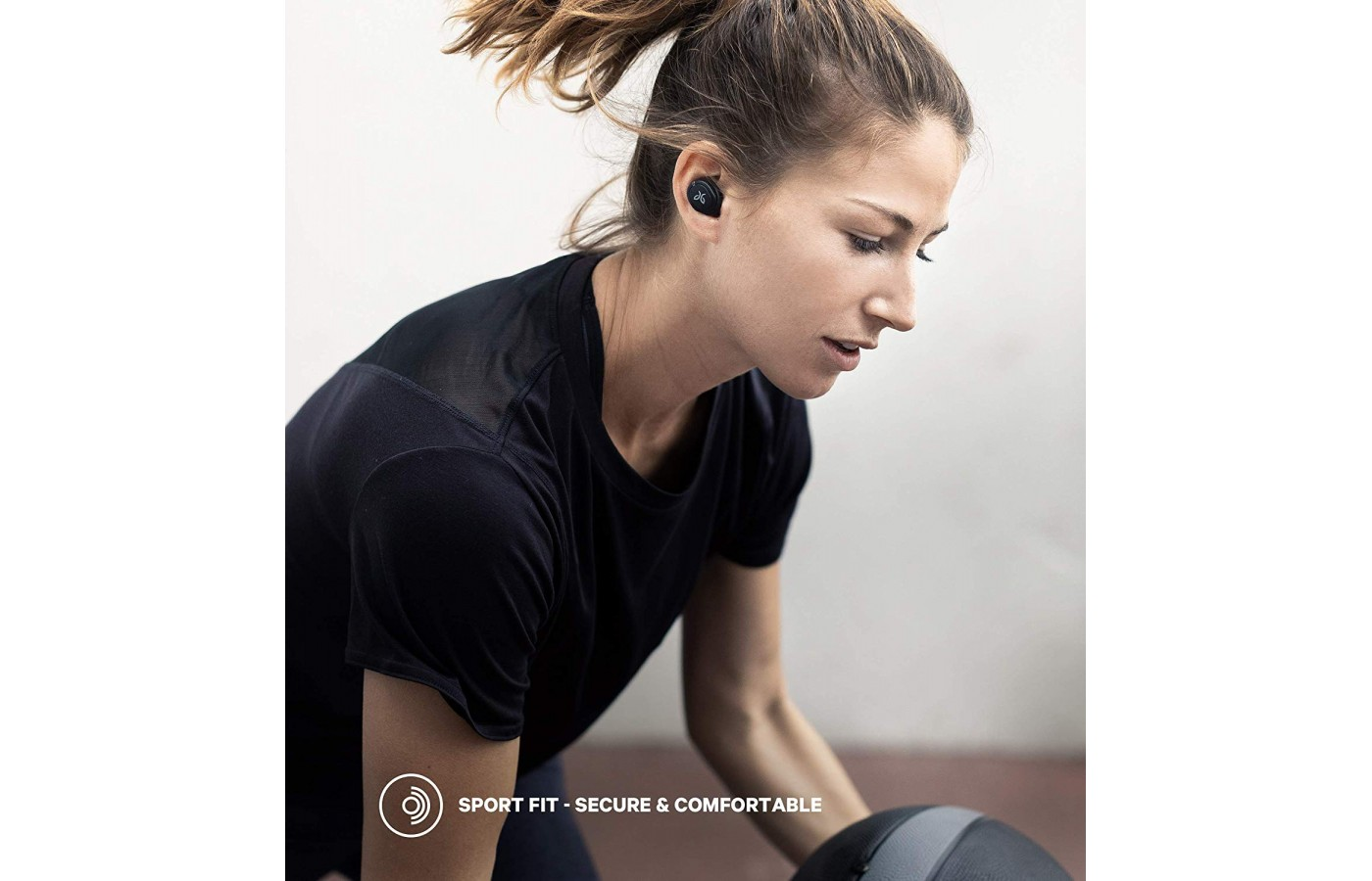 The headphones feature a tight fitting seal and secure fit that prevent outside sound from interrupting tunes.