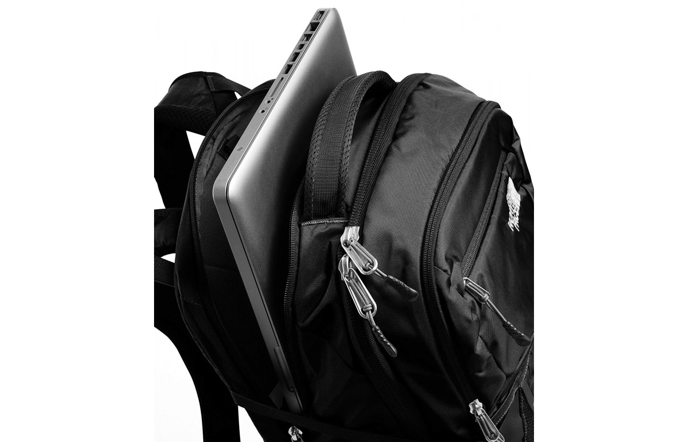 The large 31-liter capacity North Face Recon has enough space for 15-inch laptop.