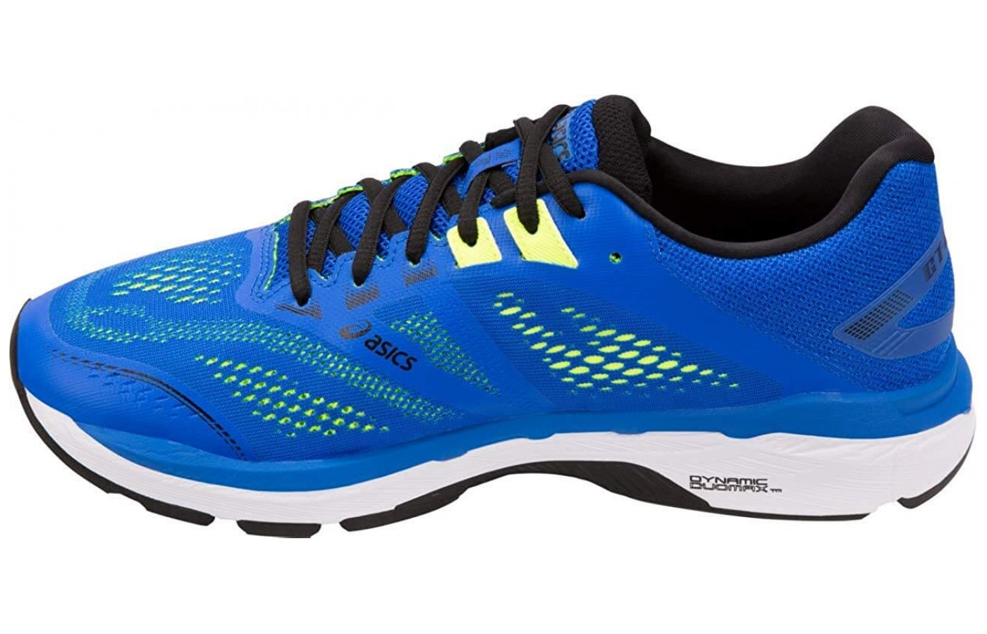 This model of ASICS is designed to be a street running shoe – paved roads are the intended surface area.