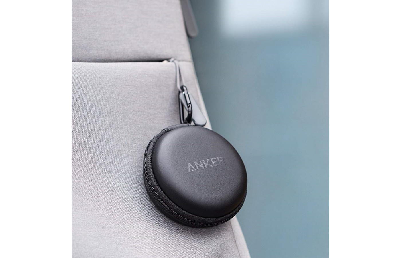 The Anker SoundBuds Curve comes with a hard case carrying case for protection even on the go.