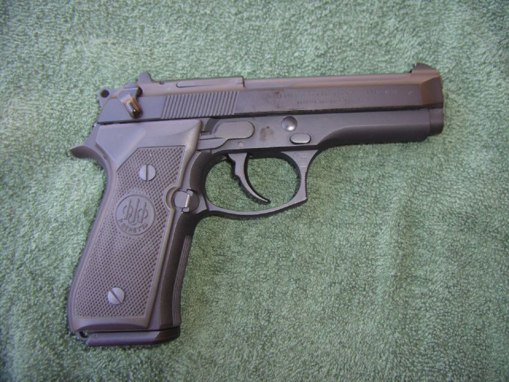 The Beretta 92FS is known to the U.S. Military as the M9.