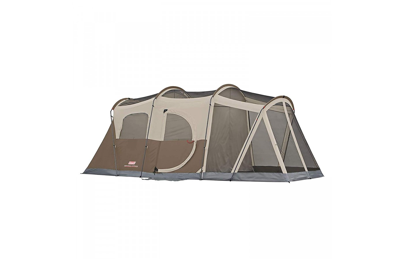 This tent has enough room for 3 queen size air mattresses.