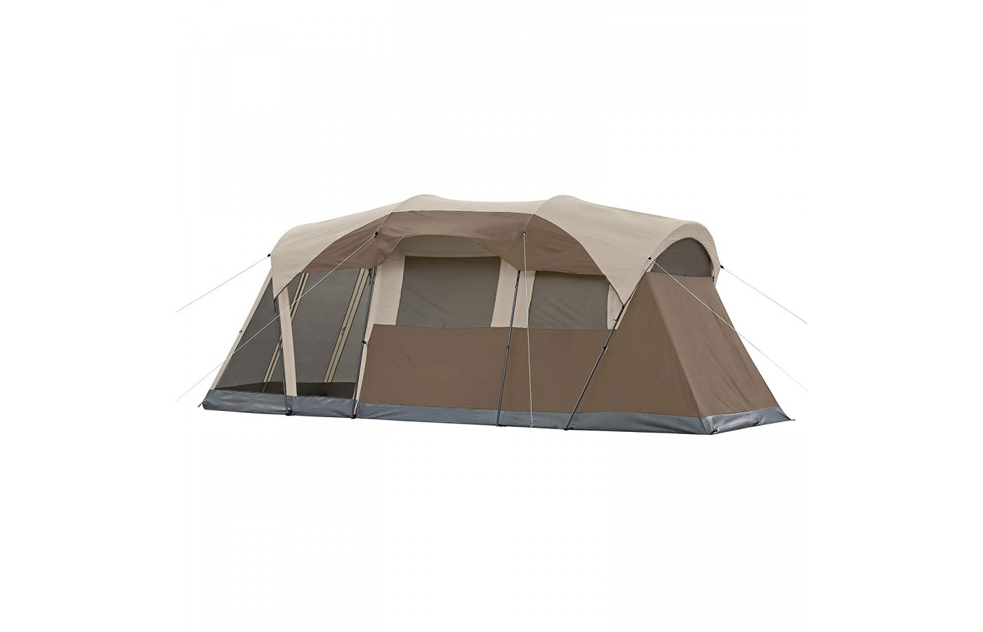 The Coleman Weathermaster offers a 68-denier polyester mesh inner tent for protection from rain and wind.