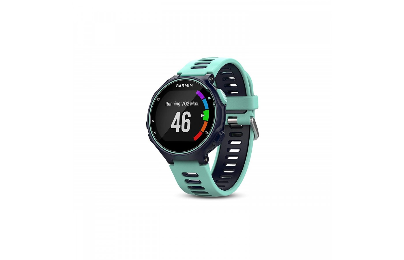 The Garmin Forerunner 735XT has a heart rate monitor for more accurate calorie burn and sleep monitoring.