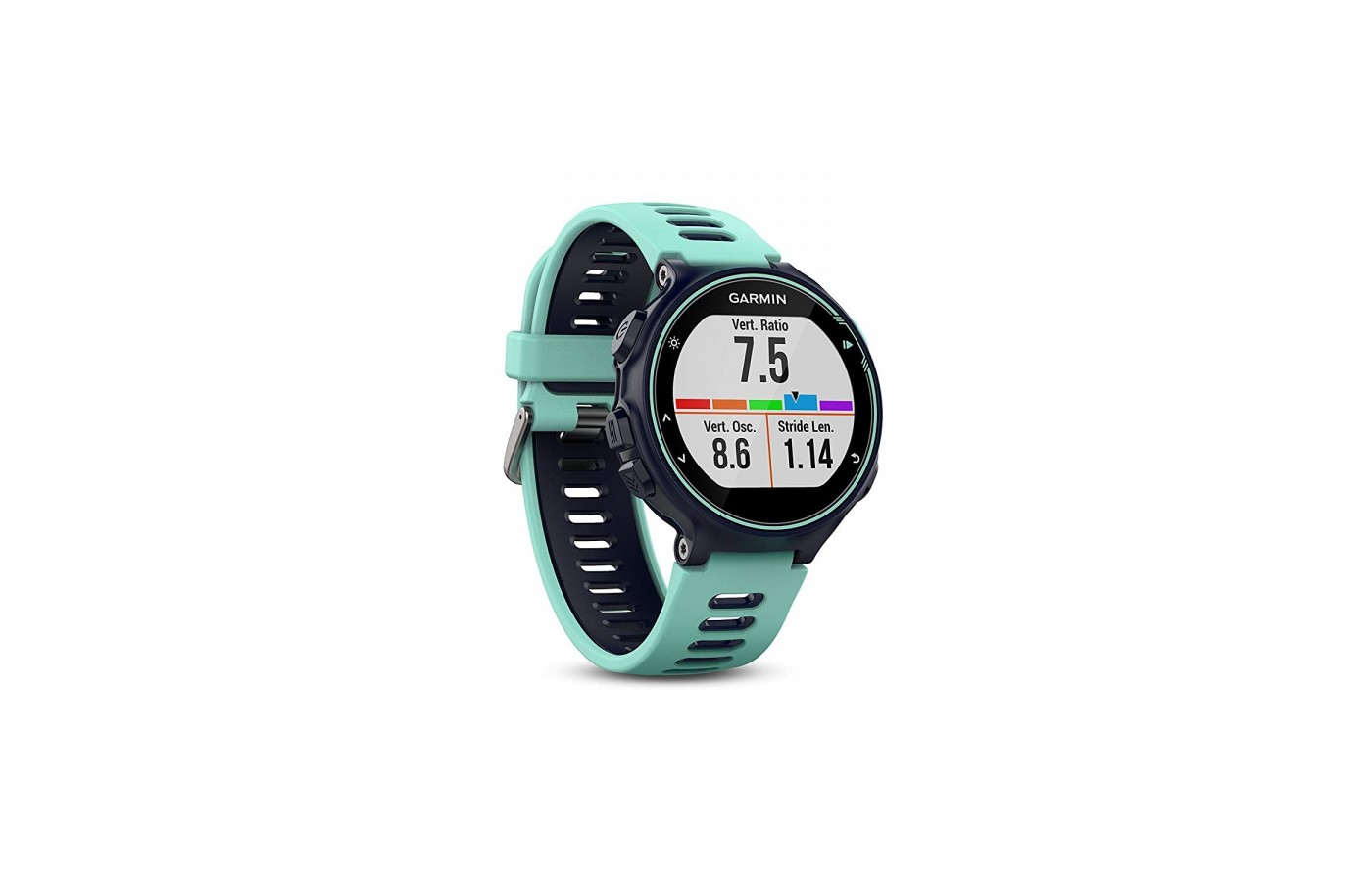 The Garmin Forerunner 735XT offers a comfortable, silicone band for long-term wear.