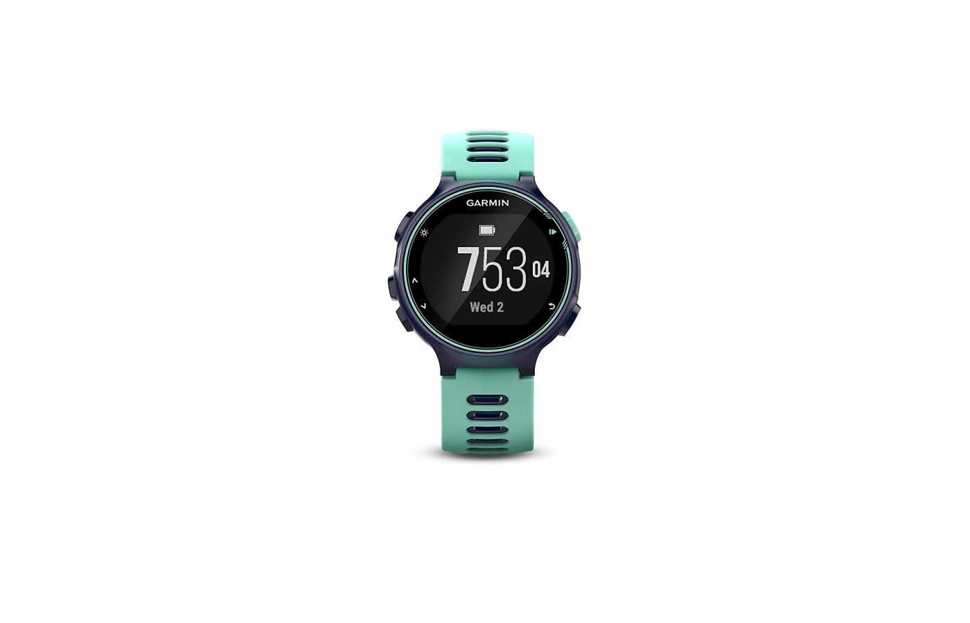 The Garmin Forerunner 735XT is waterproof for tracking during water-based sports.