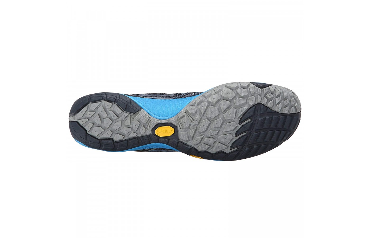 The Merrell Trail Glove 3 offers a Vibram outsole for protection and stickiness when the runner needs it.