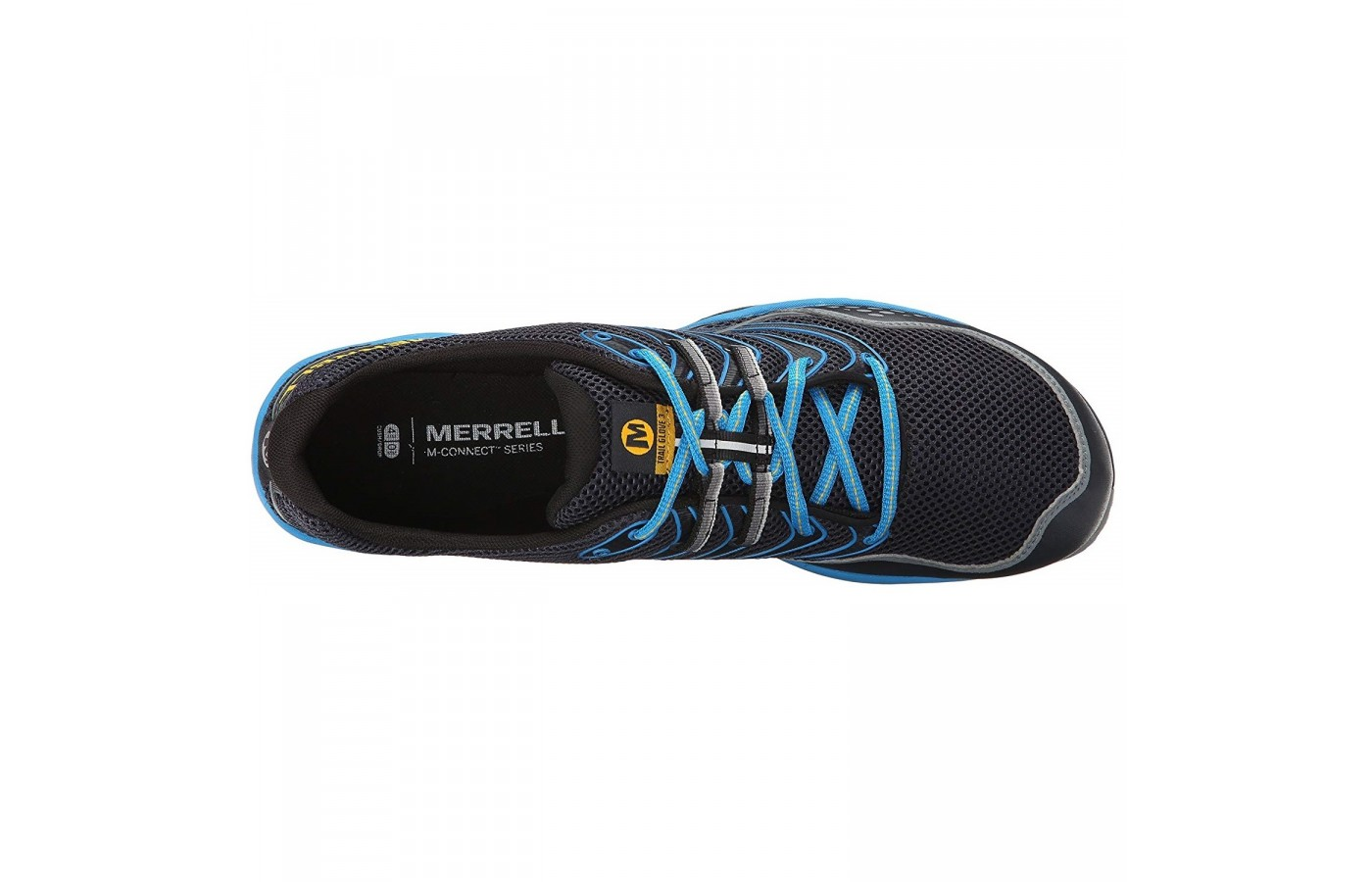 The Merrell Trail Glove 3 offers an Omni-Fit lacing system in order to provide a closer, more precise fit to the foot.