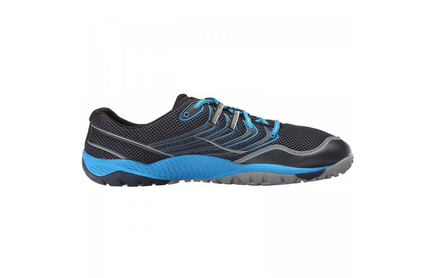 The Merrell Trail Glove 3 also offers a 0 mm drop in order to offer a more natural step.