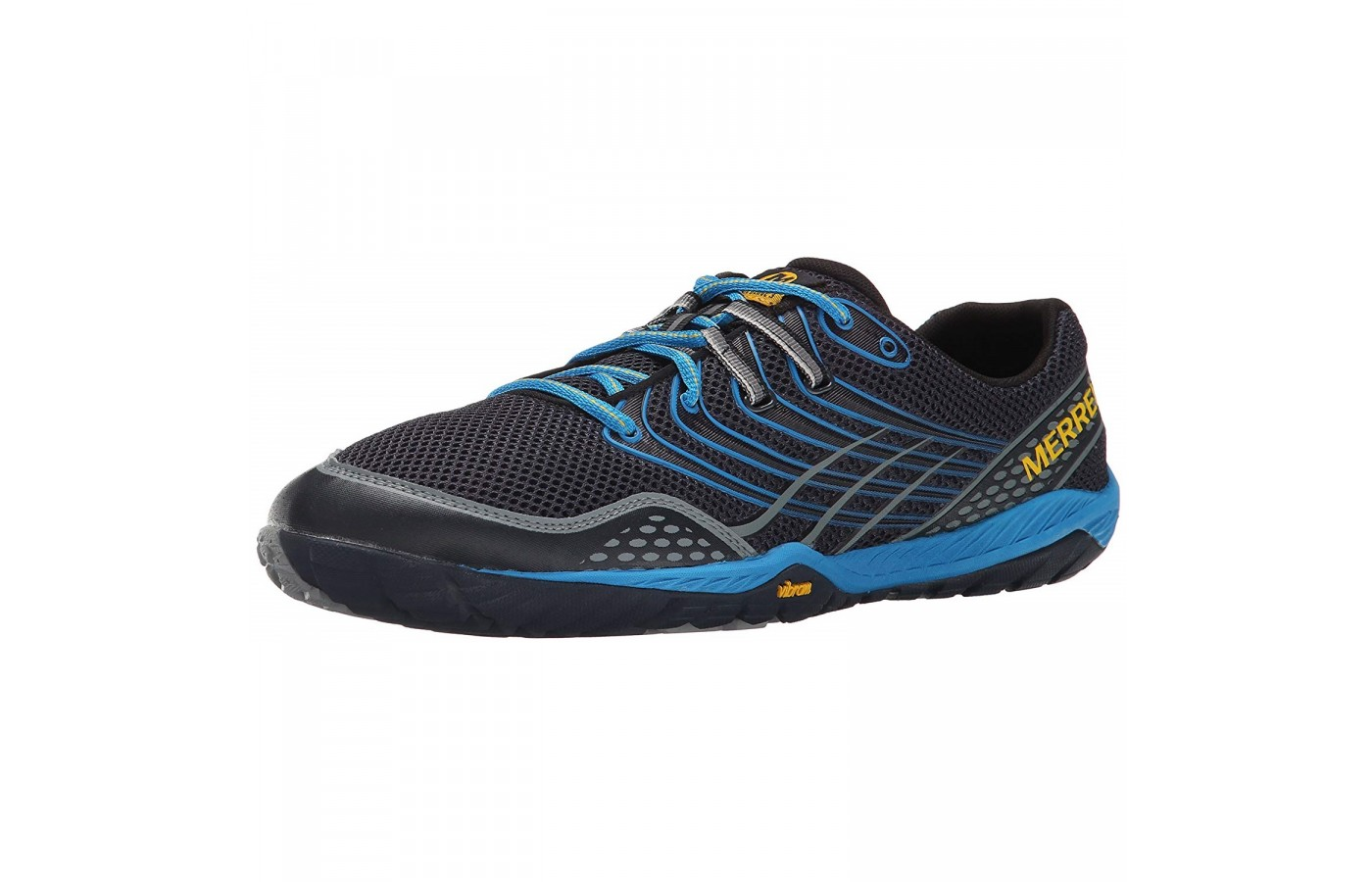 The Merrell Trail Glove 3 offers mesh and synthetic upper material for a cooler, more ventilated run.