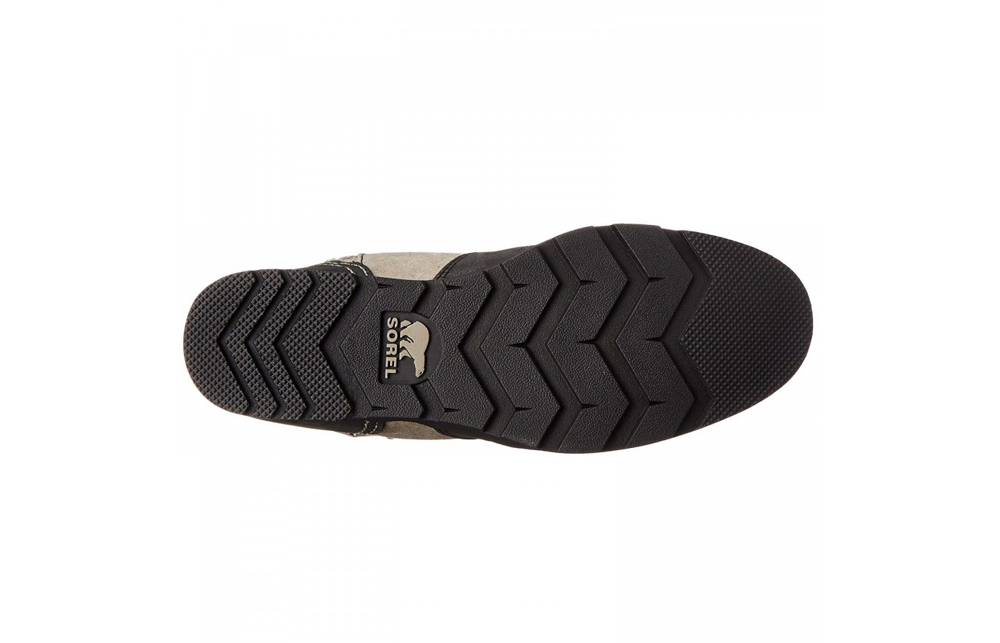 The Sorel Major Carly offers an all rubber outsole to protect the wearers foot from snow beneath the foot.