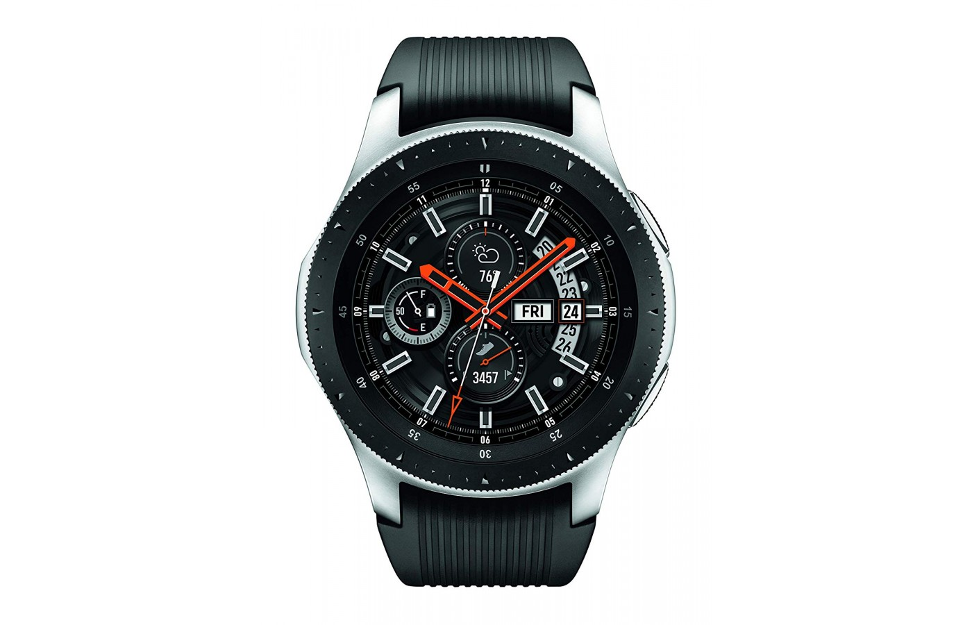 The Samsung Galaxy watch has military-grade durability.