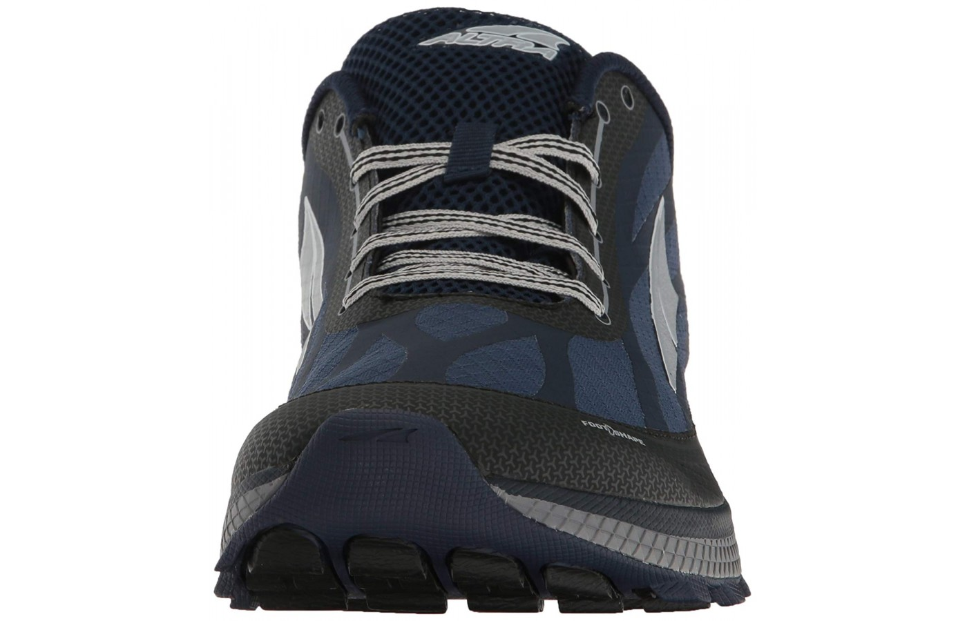 The outsole of the shoe is good for tough terrain.