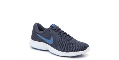The Nike Revolution 4 is made out of mesh material in the upper.