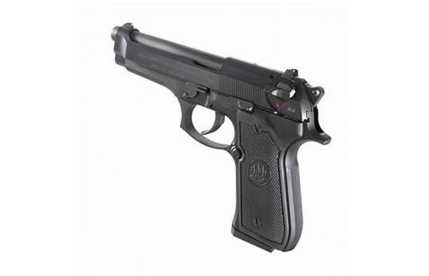 The gun has a Bruniton finish that is unique in many aspects and provides superior corrosion resistance.