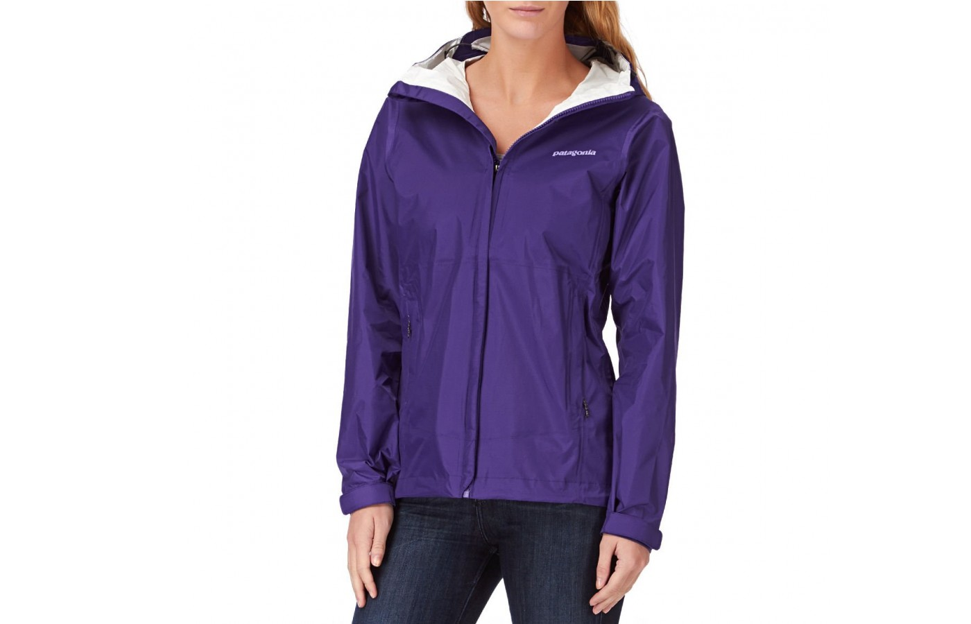 This jacket is perfect for lighter rain conditions.