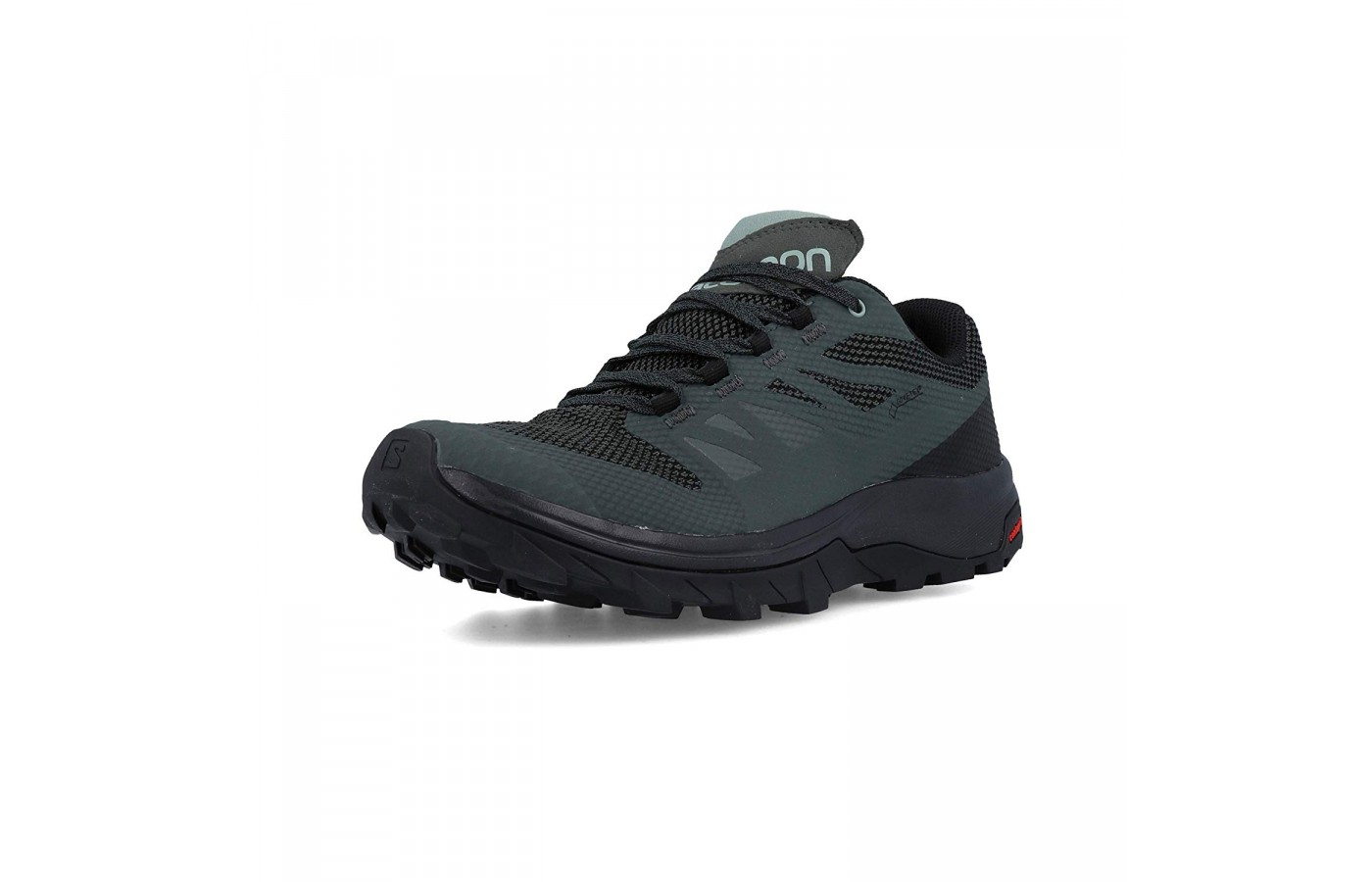 These Salomon shoes are meant to be used for hiking.