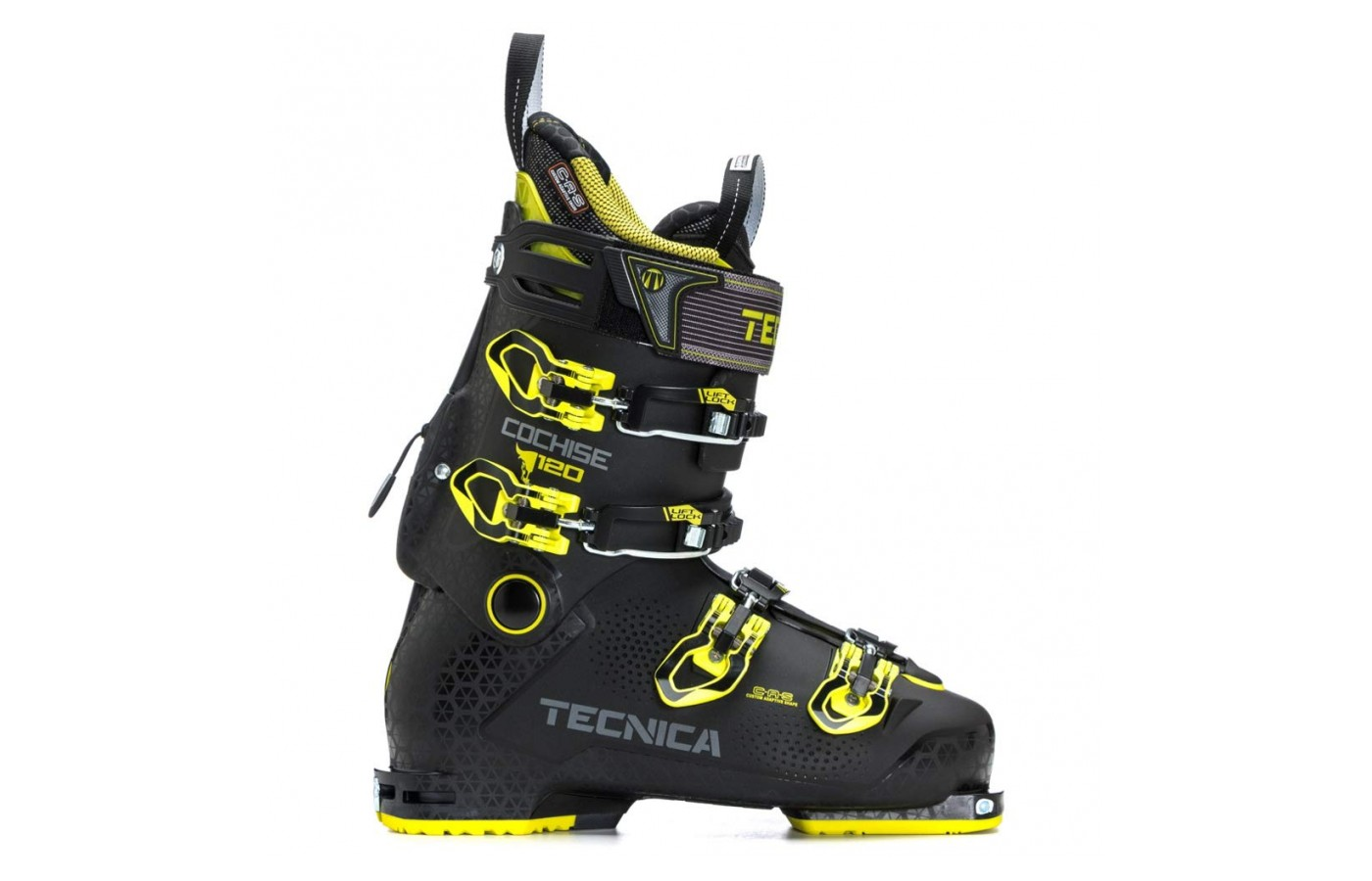 These ski boots are very lightweight.