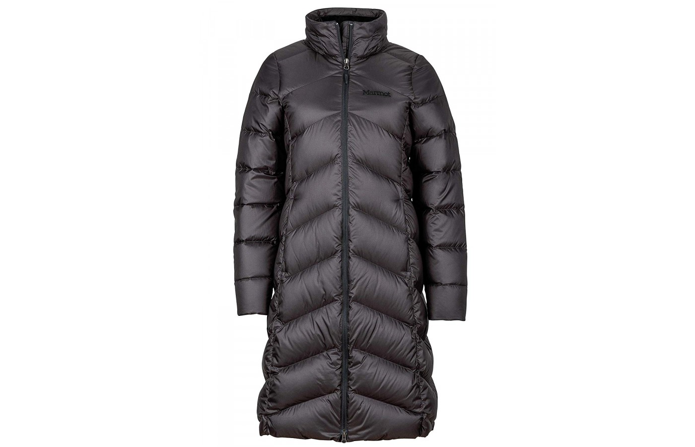 Marmot did a great job controlling the down and maintaining a form-fitting, flattering look for a warm jacket.