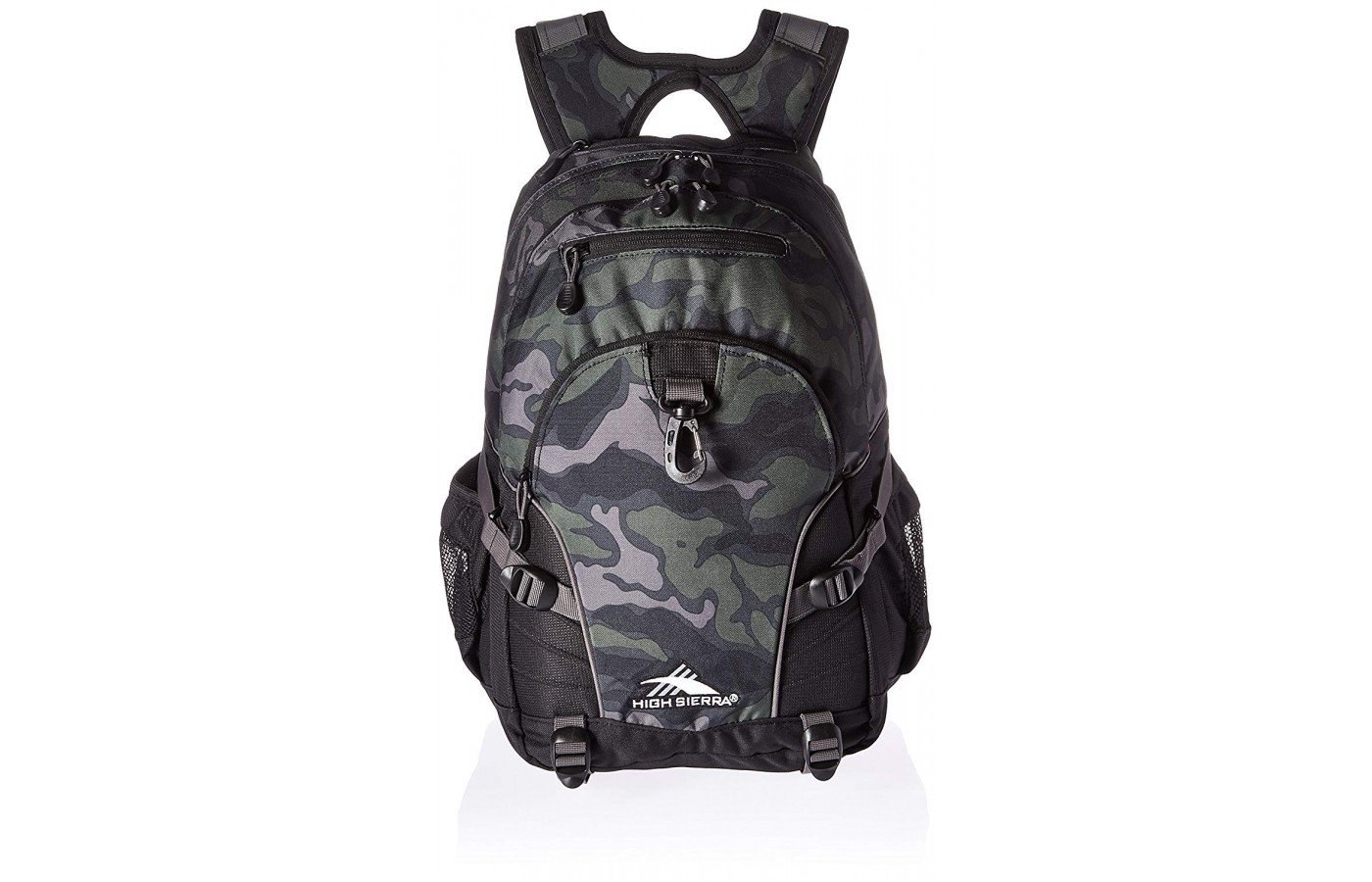 High Sierra offers everything from all black daypacks to packs with camo, butterflies, pineapples, and much more.