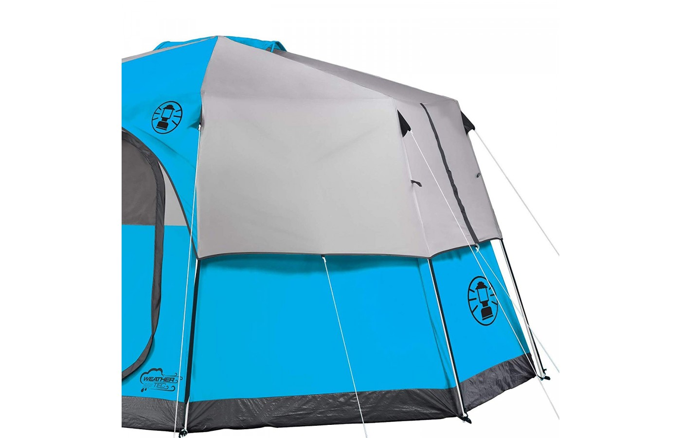 The Coleman Cortes Octagon 8 is made of a water-proof polyester to protect against rain and wind.