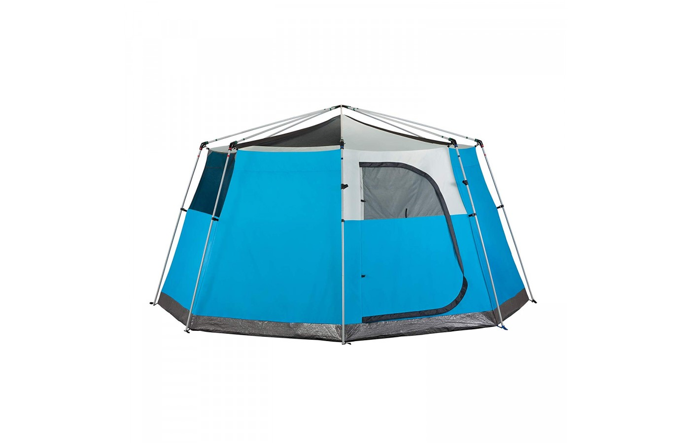 The Coleman Cortes Octagon 8 has an optional hood removable cover to enjoy the sun during the day.