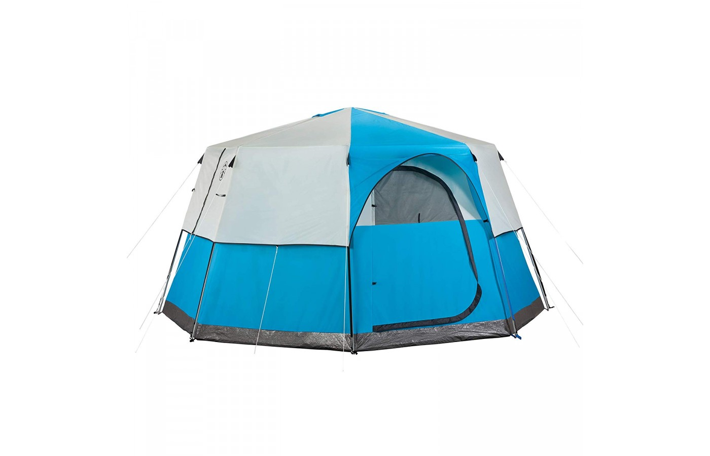 The Coleman Cortes Octagon 8 offers a UV guard to protect the camper against harmful rays caused by the sun.