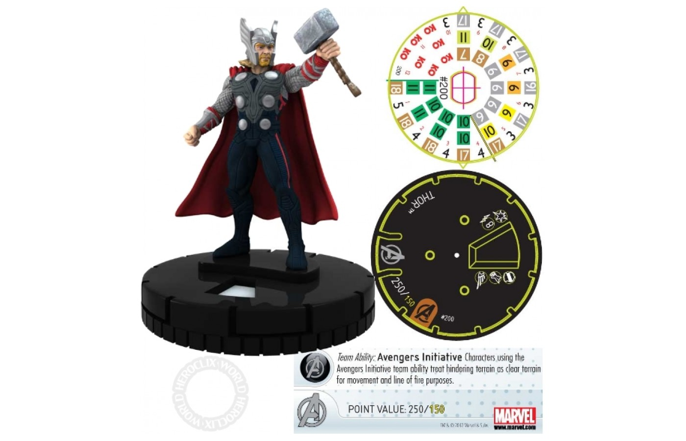 Each character has a specialized dial talored to its power set and experience level.