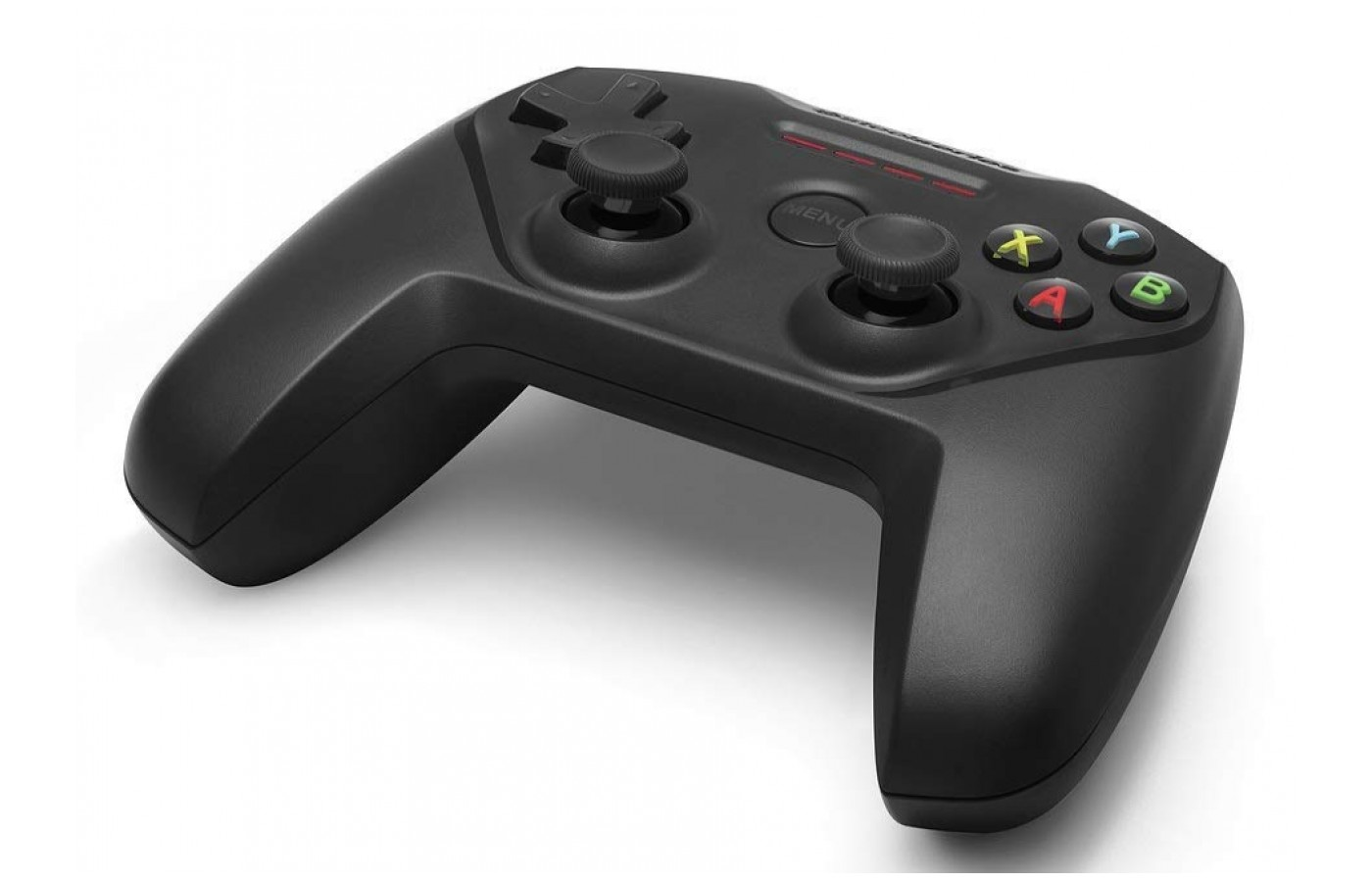 The Nimbus has a combination feel to it, something of a blend of Xbox and Nintendo controllers.
