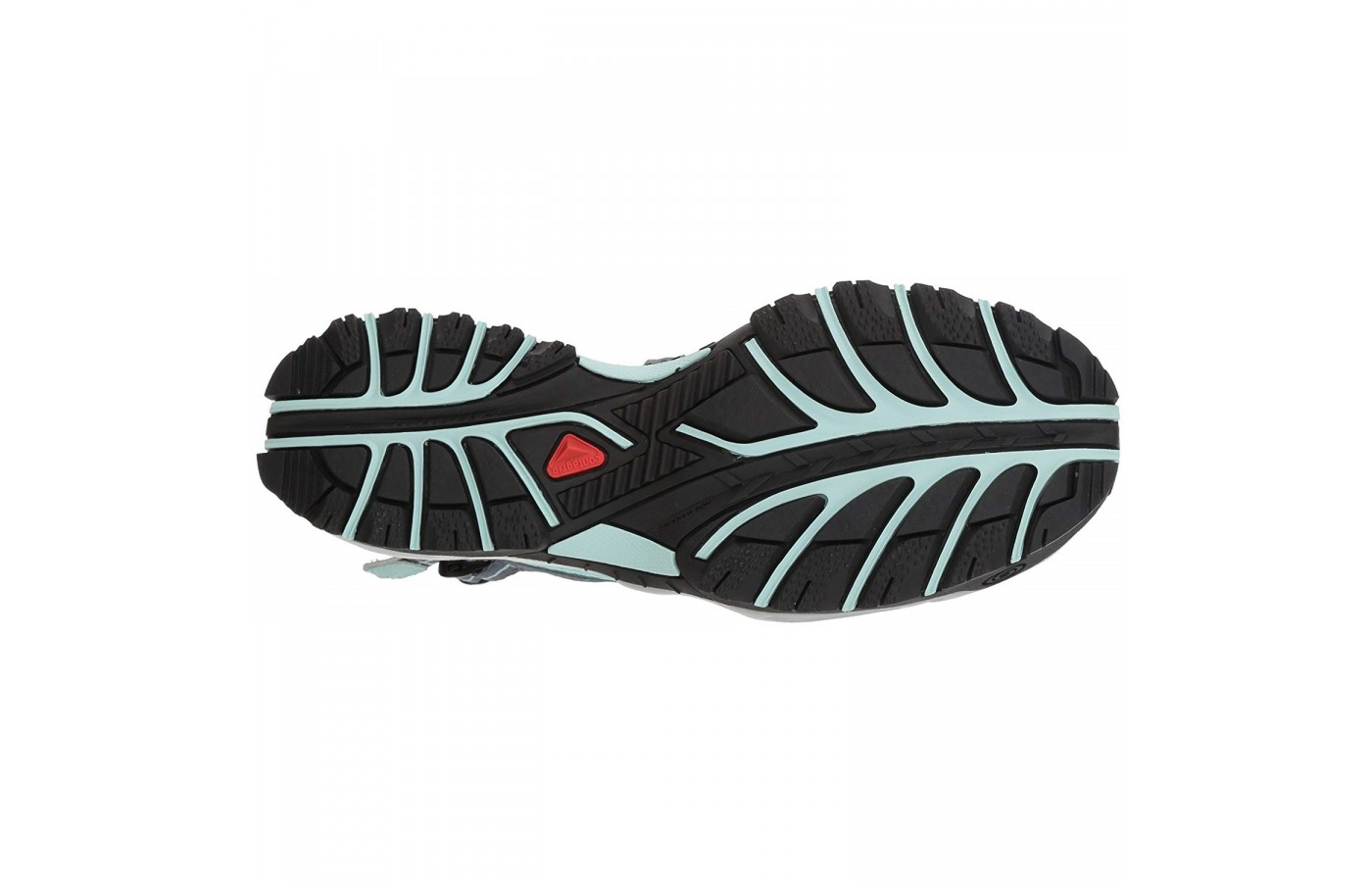 The Salomon Techamphibian 3 offers an incredibly grippy outsole for better traction on both wet and dry surfaces.