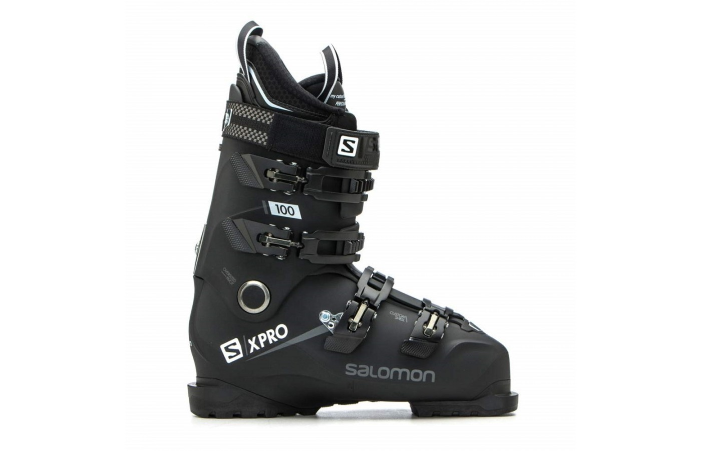 The Salomon X Pro 100 offers a custom-moldable shell for a better fit.