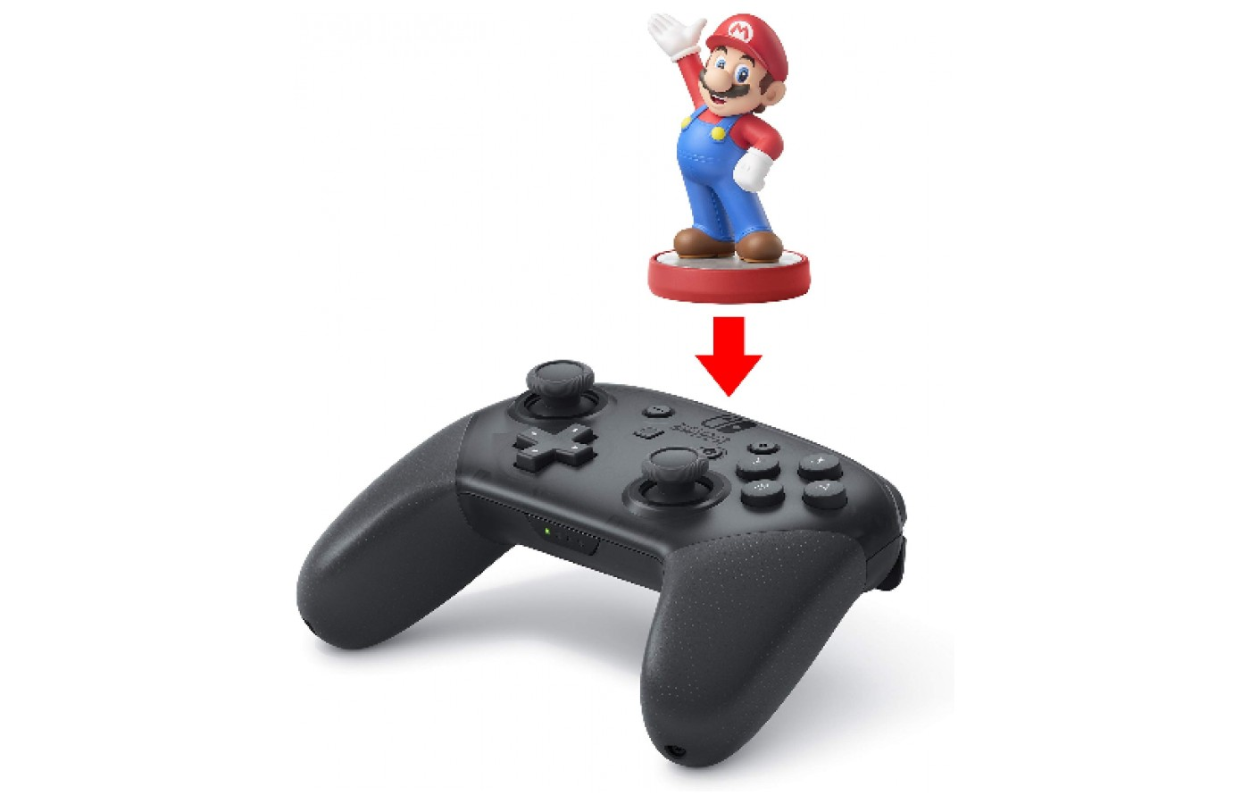 Don't worry, your Amiiba can still be scanned in via controller!