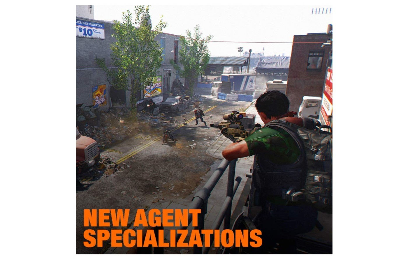 New features are available in Division 2 to check out.