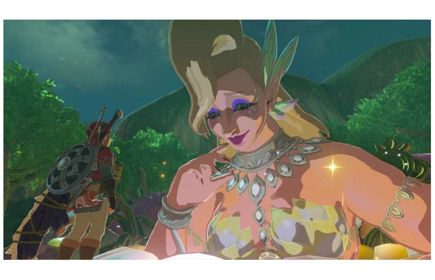 No matter what Zelda you play in 3D the Great Fairy is both useful and awkward to approach.