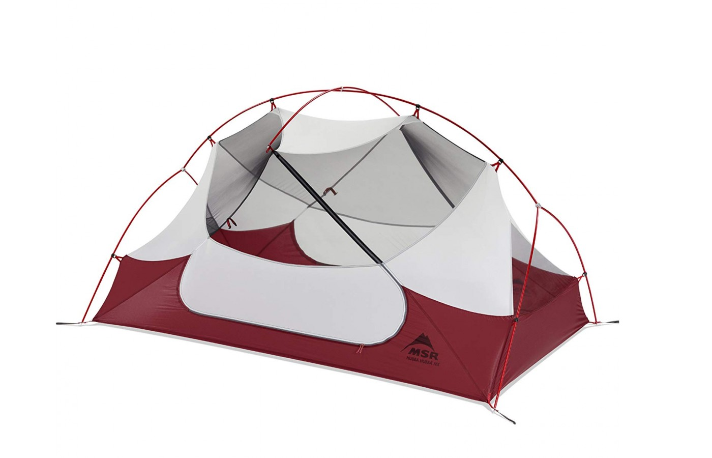 The tent is made with waterproofing materials.