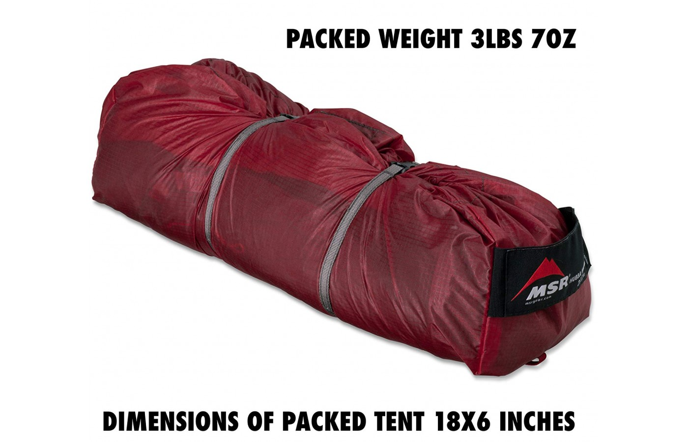 It is easy to transport this tent from place to place.