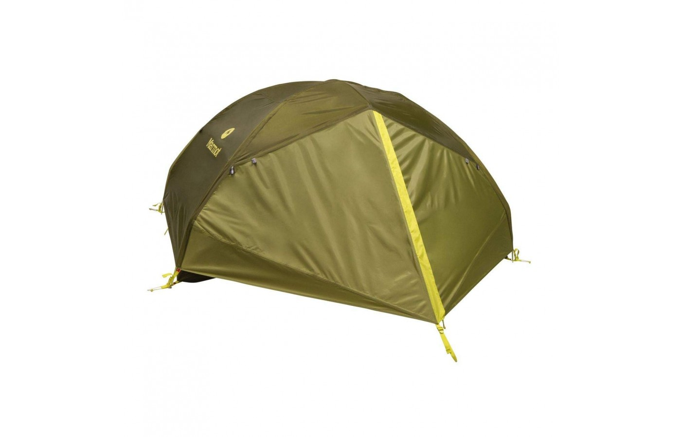 The Tungsten 2P tent is available in a vibrant orange color and updated light green color.