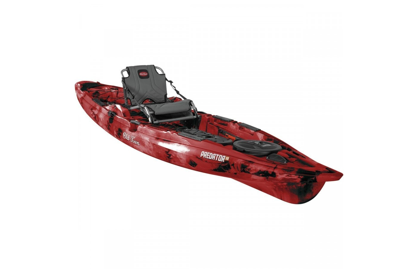 The Old Town Predator 13 is well-outfitted and well-designed.